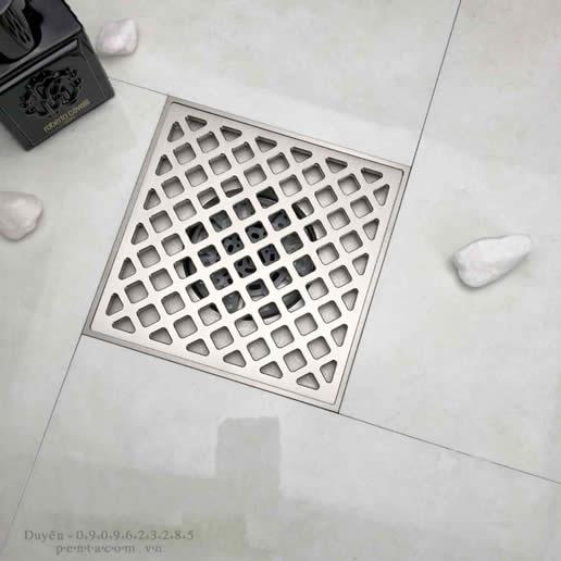 Thoát sàn ứng dụng công nghệ van từ trường treo xả xoáy giúp thoát nước nhanh và ngăn mùi hiệu quả