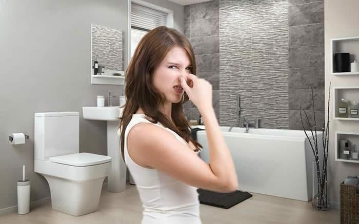 Mùi hôi nhà vệ sinh chung cư